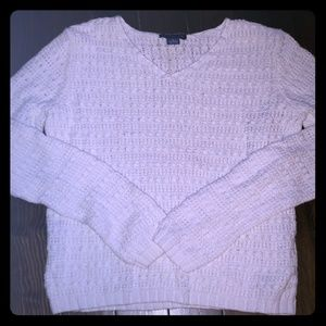 Ann Taylor Medium white sweater